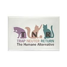 Trap Neuter Return Rectangle Magnet
