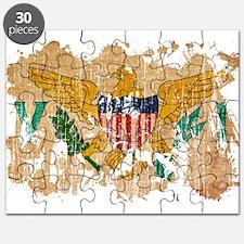 Virgin Islands Flag Puzzle