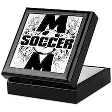 Soccer Mom (cross).png Keepsake Box