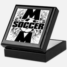 Soccer Mom (cross).png Keepsake Box