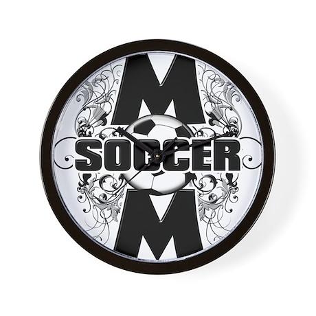 Soccer Mom (cross).png Wall Clock
