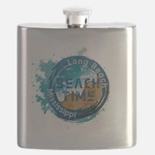 Funny Long beach Flask
