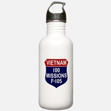100 Missions Water Bottle
