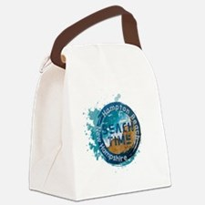Cute Hamptons Canvas Lunch Bag