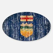 Alberta Flag Decal
