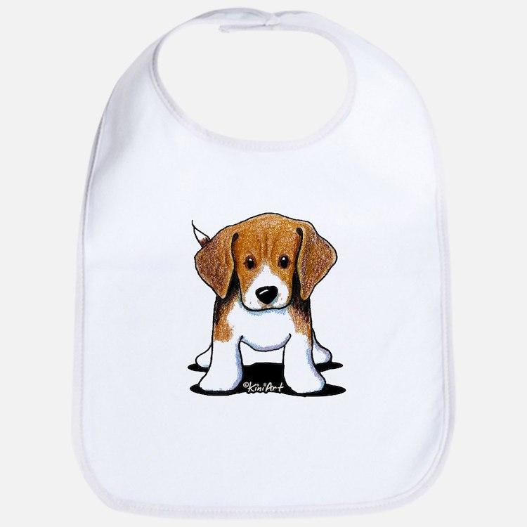 Beagle Puppy Bib