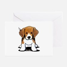 Beagle Puppy Greeting Cards (Pk of 10)