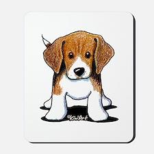 Beagle Puppy Mousepad