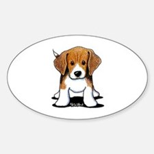 Beagle Puppy Decal
