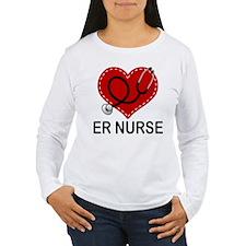 ER Nurse Heart T-Shirt