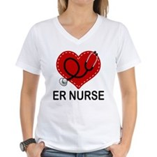 ER Nurse Heart Shirt