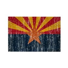 Arizona Flag Rectangle Magnet
