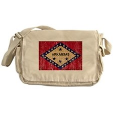 Arkansas textured aged copy.png Messenger Bag