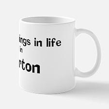 Atherton: Best Things Mug