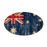 Australia Oval Car Magnets