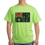 Aussie flag Tops