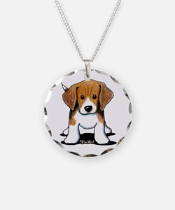 Beagle Puppy Necklace