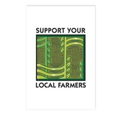 Support Your Local Farmers Postcards (Package of 8