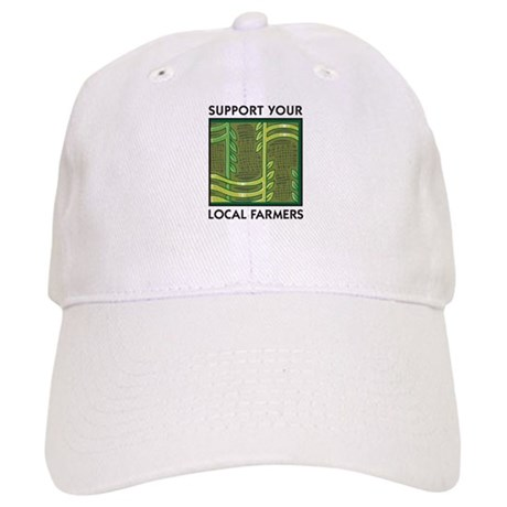 Support Your Local Farmers Cap