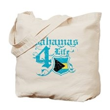 Bahamas for life designs Tote Bag