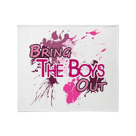 The Boys - Girl's Generation - Throw Blanket