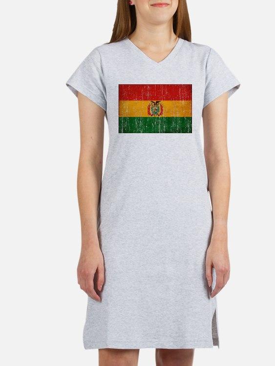 Bolivia Flag Women's Nightshirt