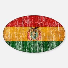 Bolivia Flag Decal