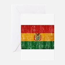 Bolivia Flag Greeting Cards (Pk of 20)