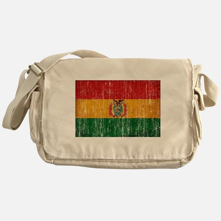 Bolivia Flag Messenger Bag