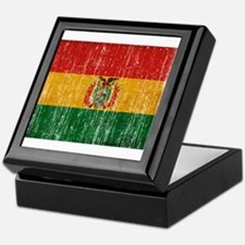 Bolivia Flag Keepsake Box