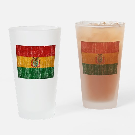 Bolivia Flag Drinking Glass