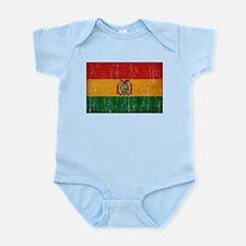 Bolivia Flag Infant Bodysuit