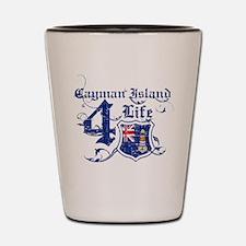 Cayman Island for life designs Shot Glass