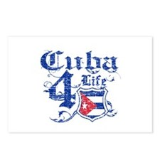 Cuba for life designs Postcards (Package of 8)