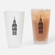 London Big Ben Drinking Glass