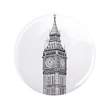 """London Big Ben 3.5"""" Button"""