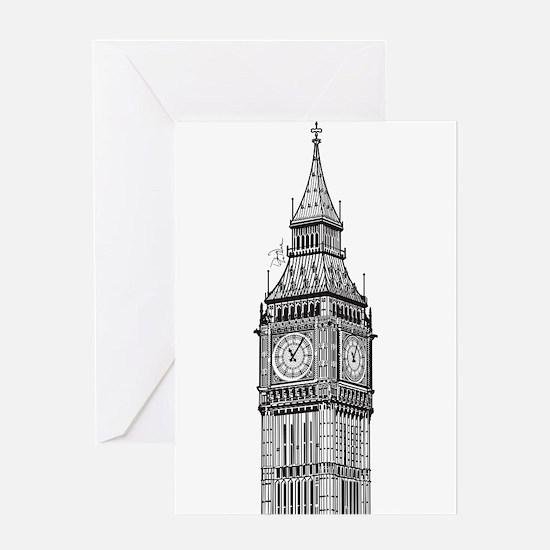 London Big Ben Greeting Card