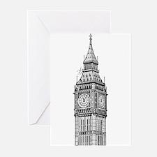 London Big Ben Greeting Cards (Pk of 20)