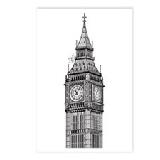 London Big Ben Postcards (Package of 8)