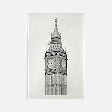 London Big Ben Rectangle Magnet