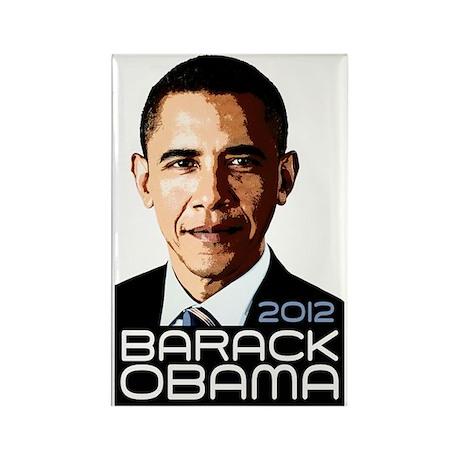 2012 Barack Obama Portrait Rectangle Magnet