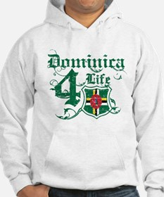 Dominica for life designs Hoodie