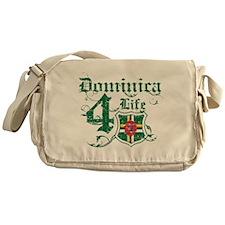Dominica for life designs Messenger Bag
