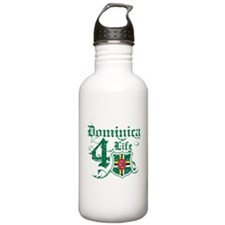 Dominica for life designs Water Bottle