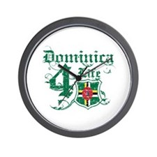 Dominica for life designs Wall Clock
