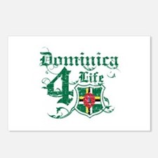 Dominica for life designs Postcards (Package of 8)