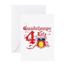 Guadeloupe for life designs Greeting Card