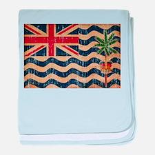 British Indian Ocean Territories Flag baby blanket