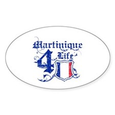 Martinique for life designs Decal