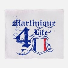 Martinique for life designs Throw Blanket